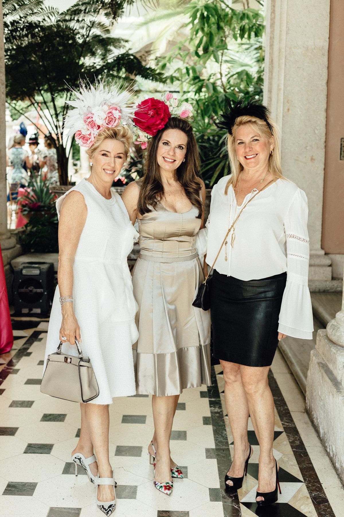 Mari Grimalt, Angela Armas Andrade & Nora Briceno