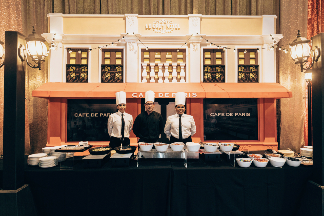 Thierry Isambert's Parisian Crêpe Station at the Best Buddies Gala