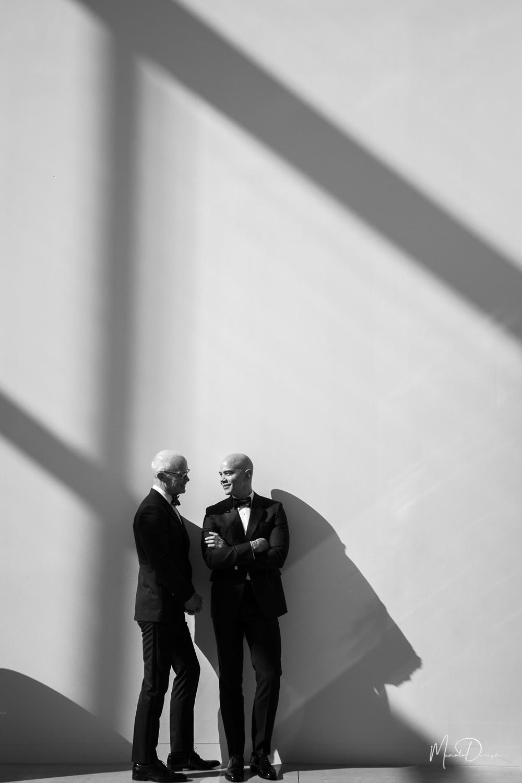 - Bradley & Robert's New World Center Wedding