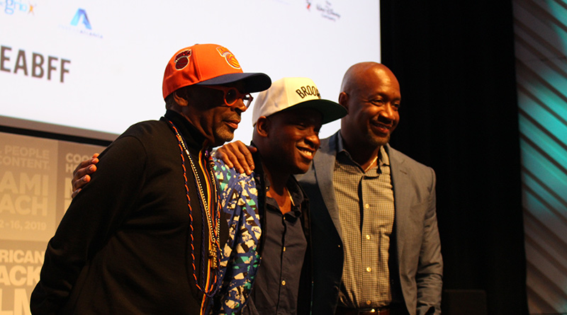 See You Yesterday  Producer Spike Lee and Writer/Director Stefon Bristol with Jeff Friday