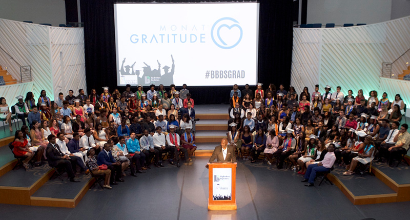 Big Brothers Big Sisters Miami, Class of 2019, Graduation Ceremony in the Performance Hall