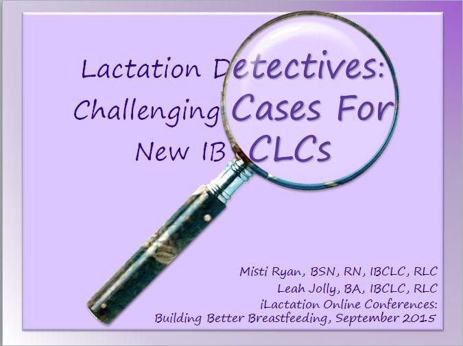 Lactation Detectives