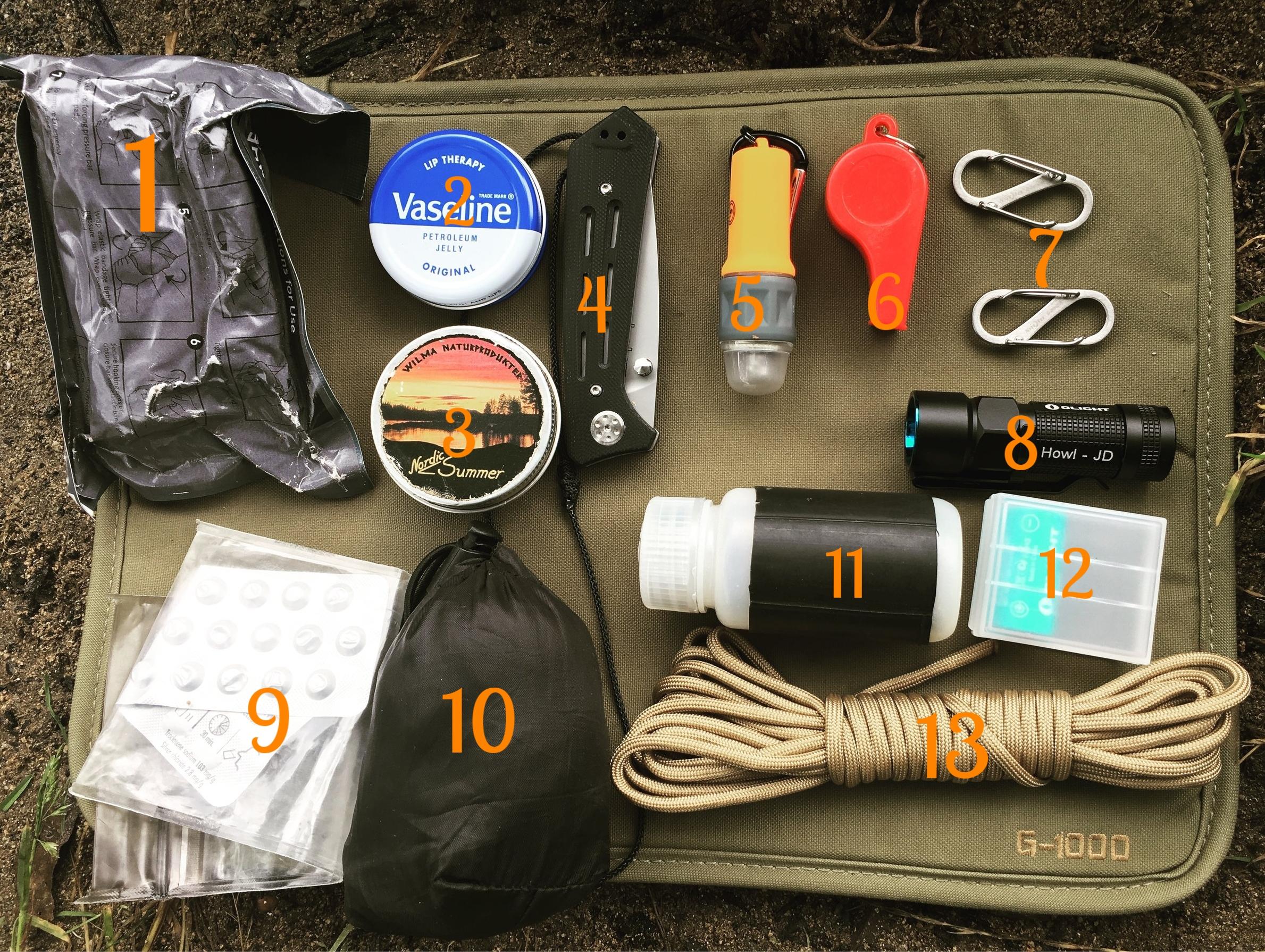 canoe pfd kit