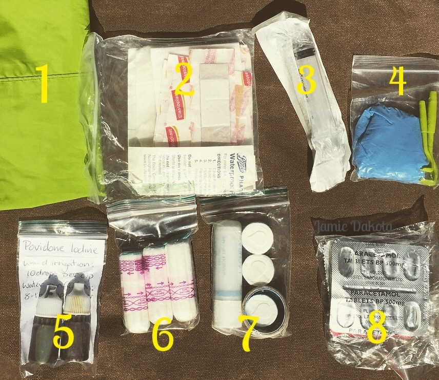 Note everything within the dry bag has its own individual waterproof packet, for robustness and organisation.