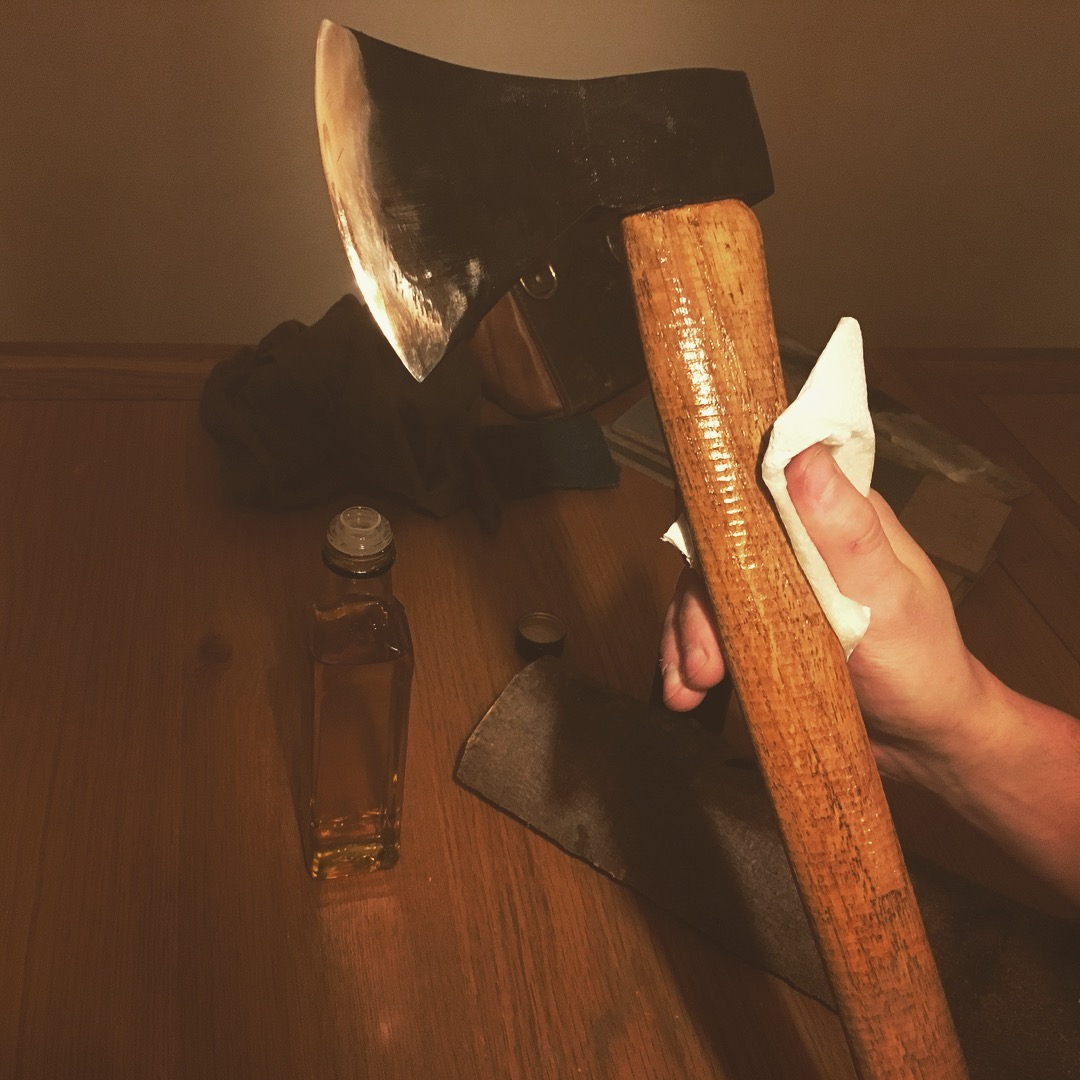 axe handle care