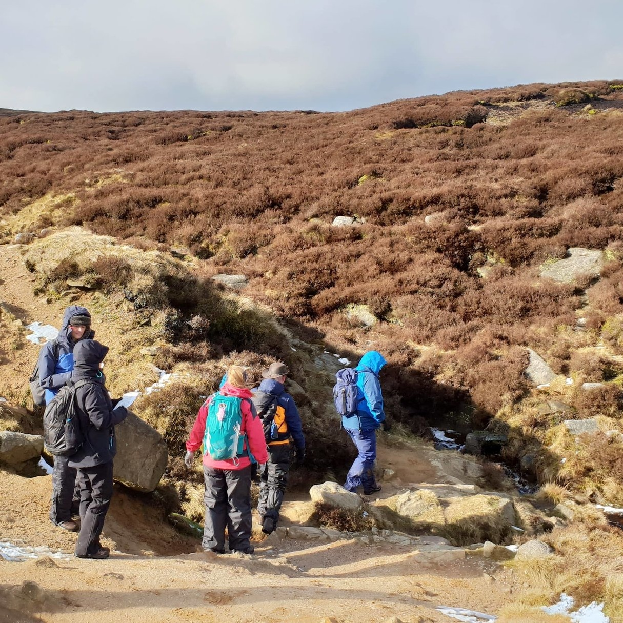 hill and moorland leader training