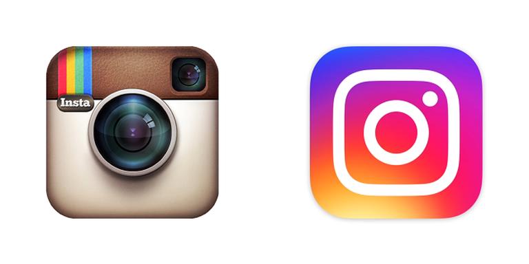 Instagram's redesigned logo