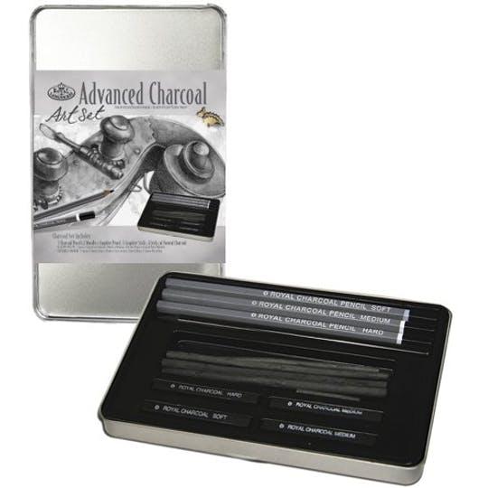Royal & Langnickel Charcoal Drawing Set