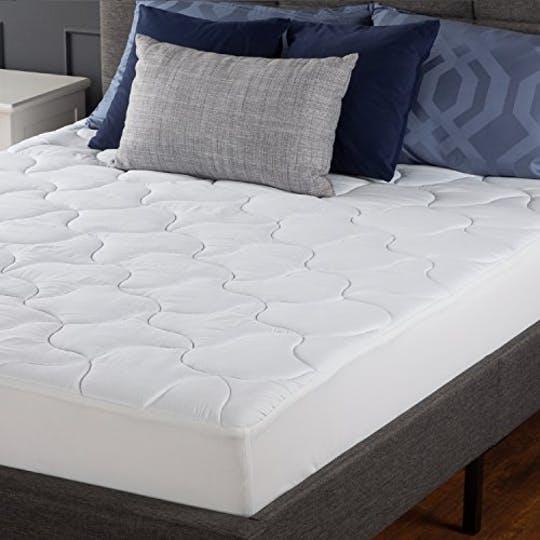 zinus memory foam mattress pad