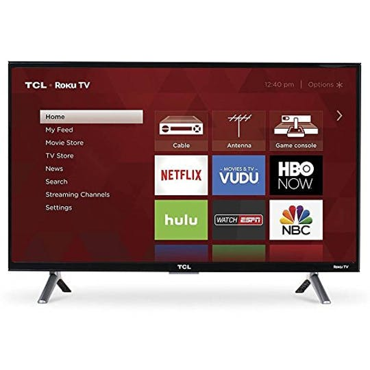 "43"" TCL 4K Ultra HD Roku Smart LED TV"
