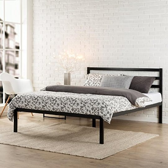 zinus metal bed frame