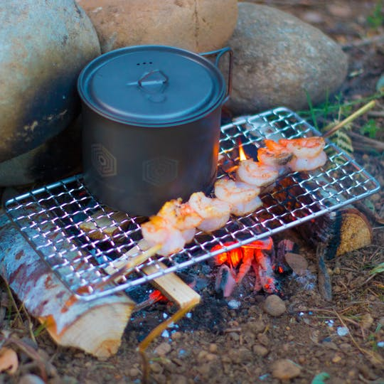 Bushcraft grill