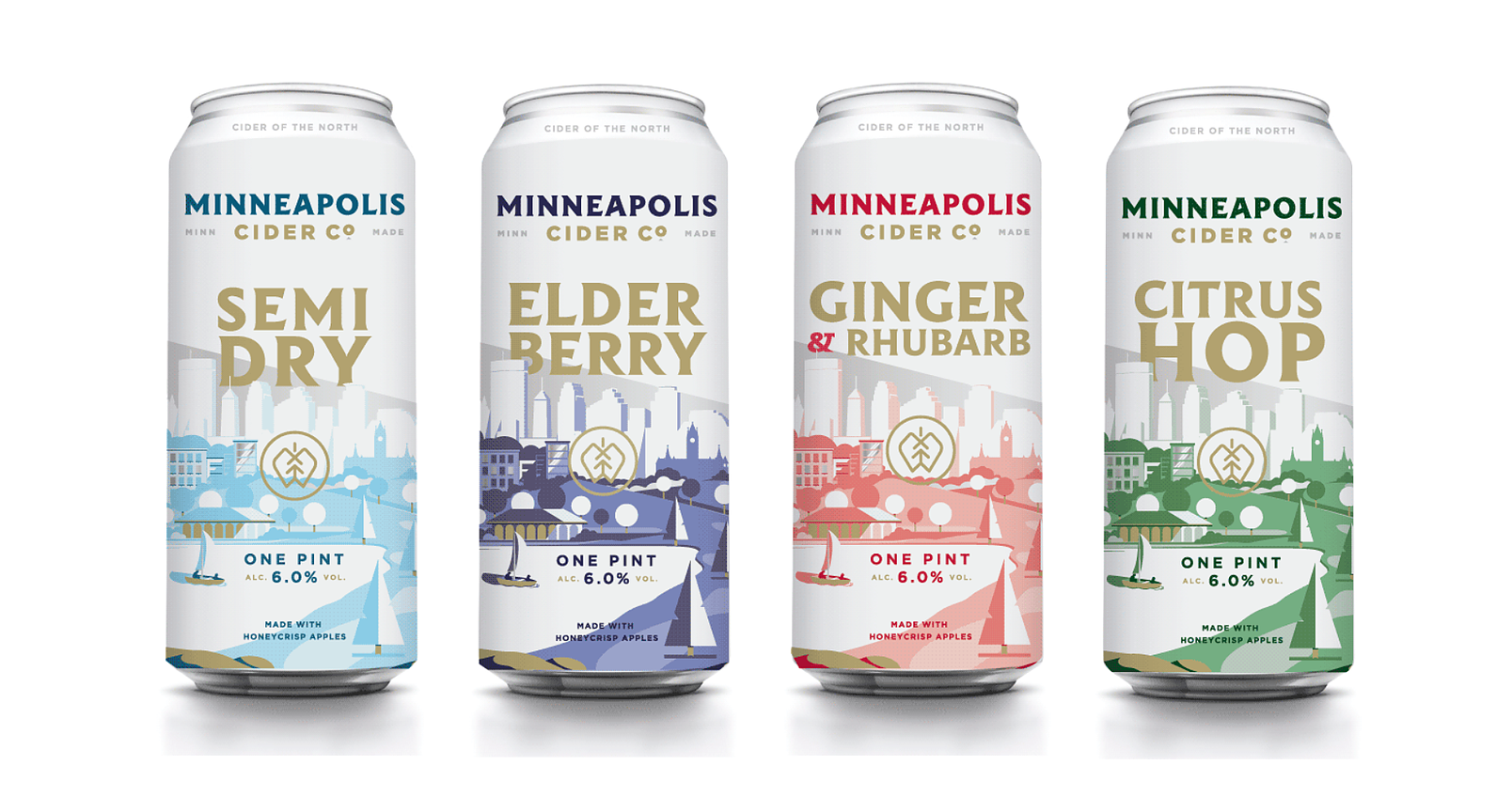 minneapolis cider co can design concept