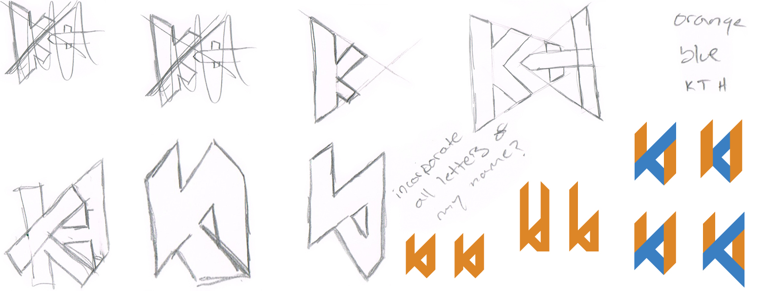 kylethale logo sketches