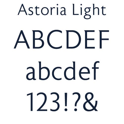 University Avenue font