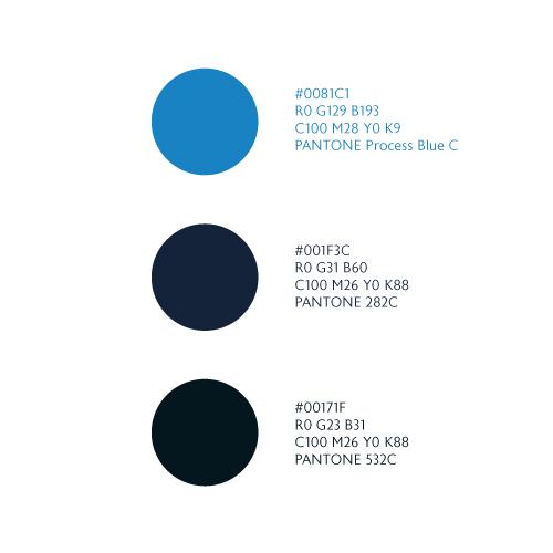 University Avenue color palette