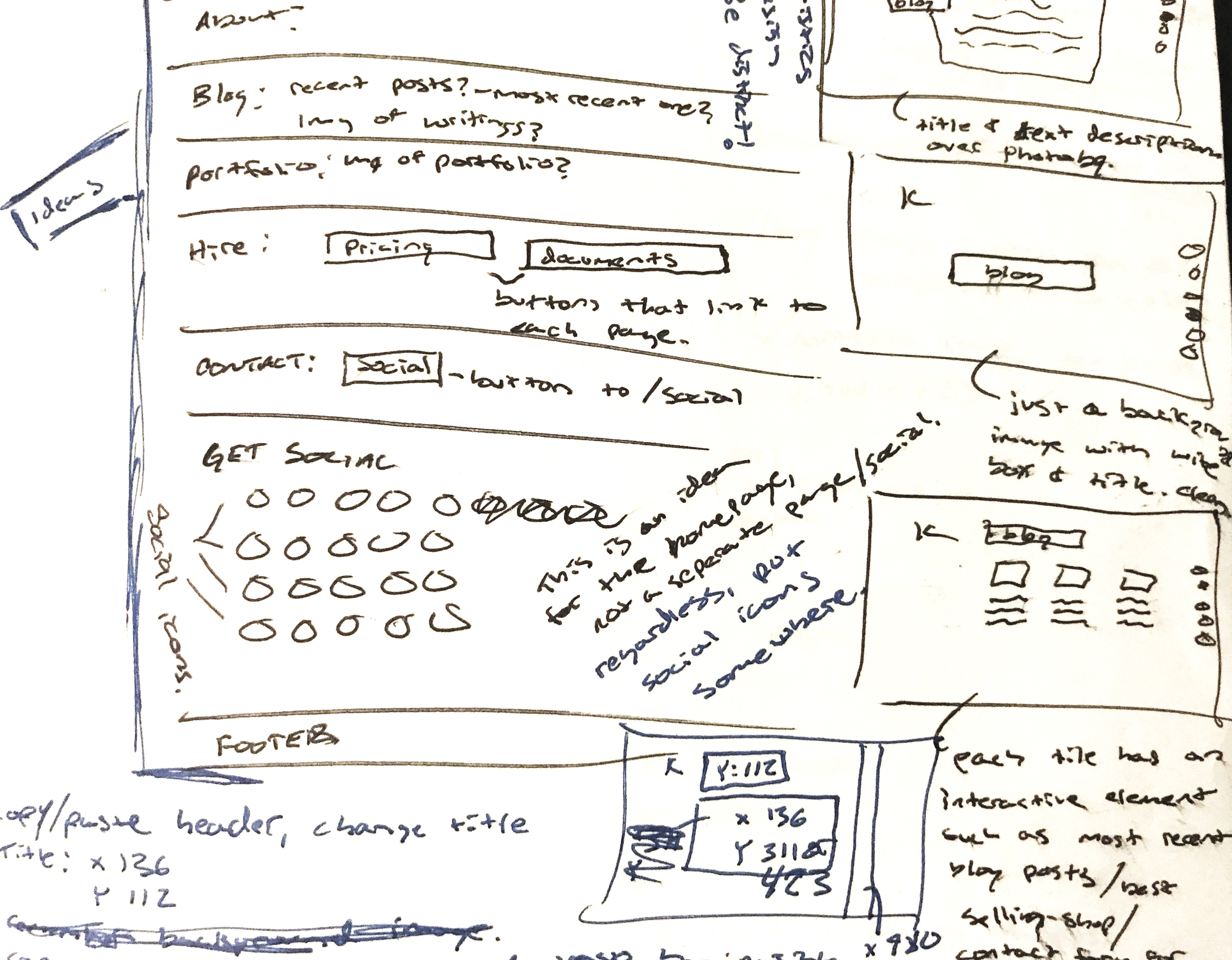 website+planning+in+sketchbook