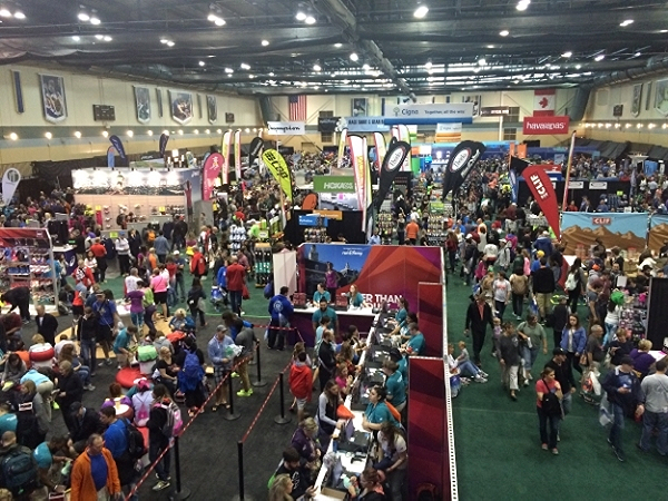 Josten's Center is where you find some of the vendors, official race merchandise, t-shirt pickup for most races and also the large New Balance area where you can buy gear and the runDisney shoes!