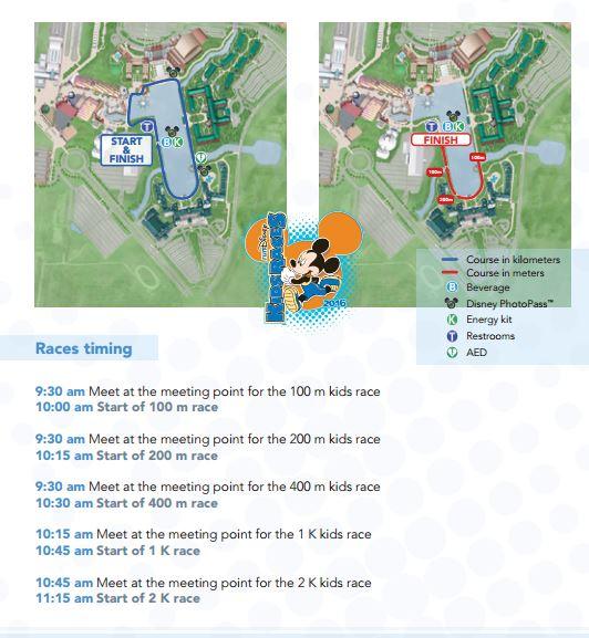 Kid's Race Disneyland Paris 2016