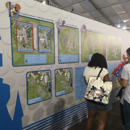 Maps were on the back of the Ofiicial MErchandise area