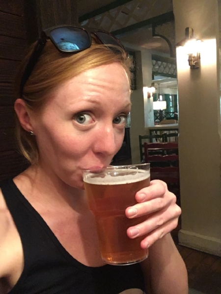 You can get beer and wine in the Disneyland Park!