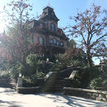 First ride was on the PHantom Manor!