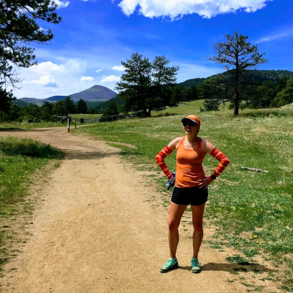 Rockin' some sunny trail miles at Betasso!