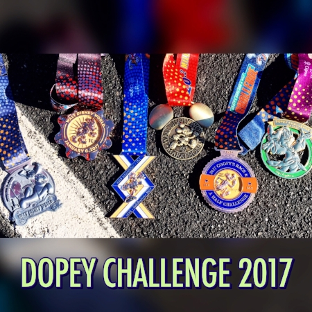 DopeyChallengeMedals2017