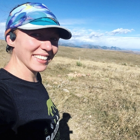 Up on Green Mountain listening to my podcast but still able to hear the mountatin nikers coming up behind me!