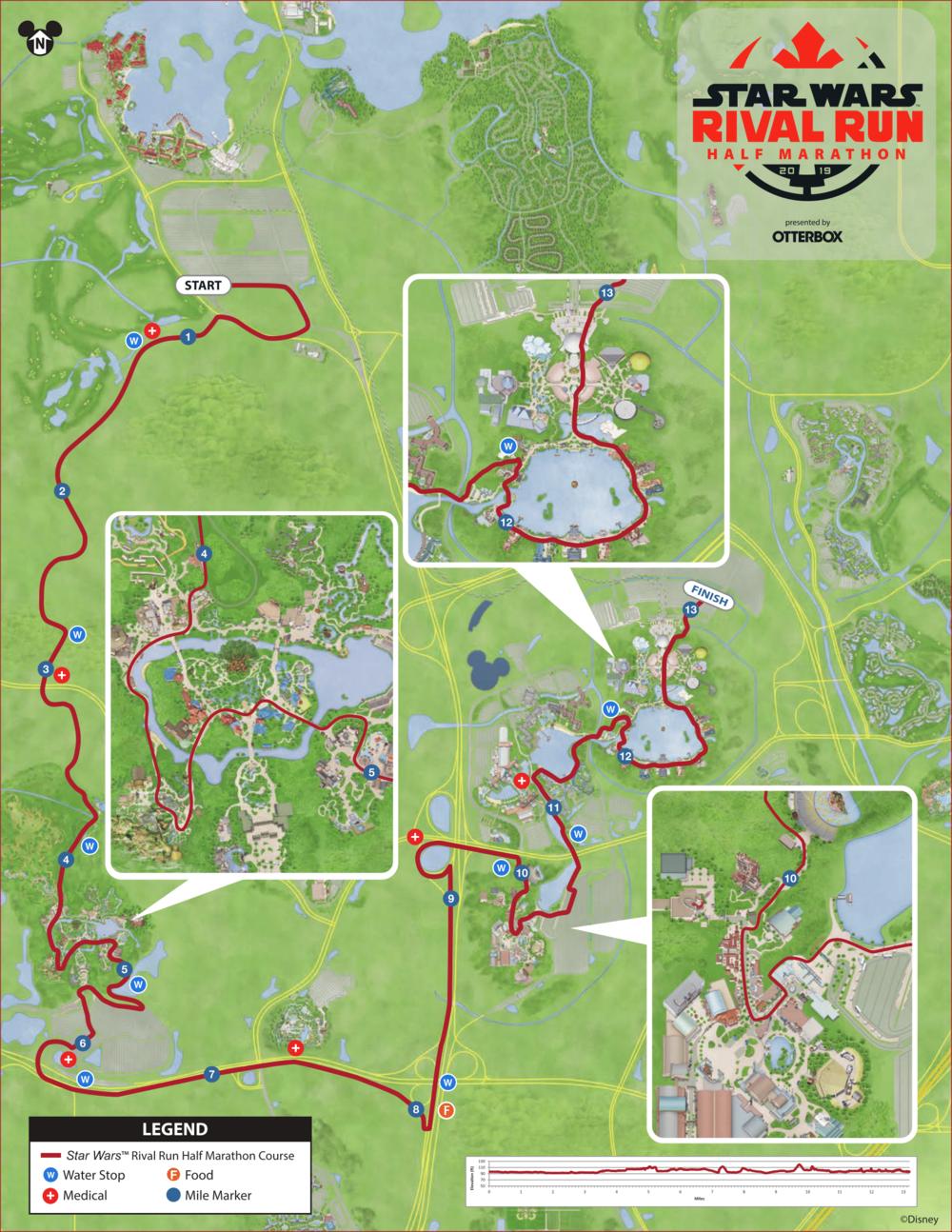 runDisney Maps — Magic of Running on
