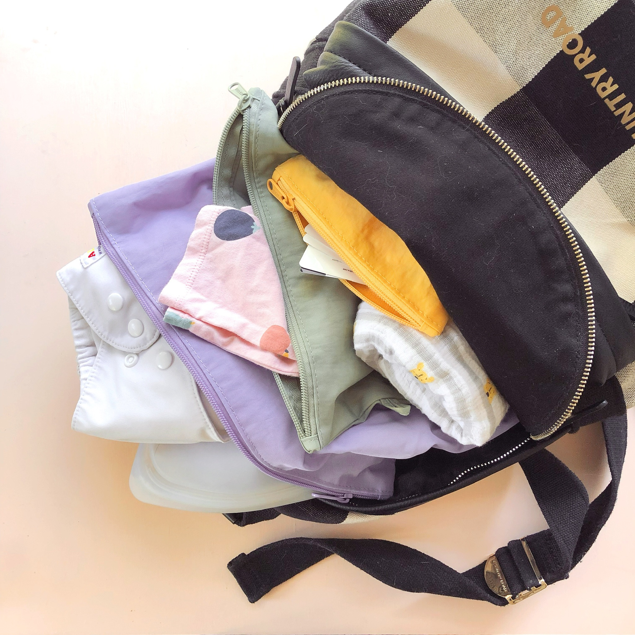 My Zero Waste Diaper Bag 0 6 Months