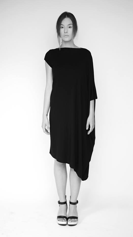 """LoveGeometry"" (2014), square dress"