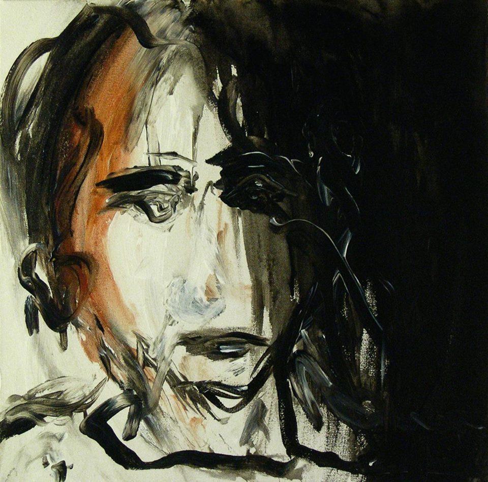 Untitled, acrylic on canvas