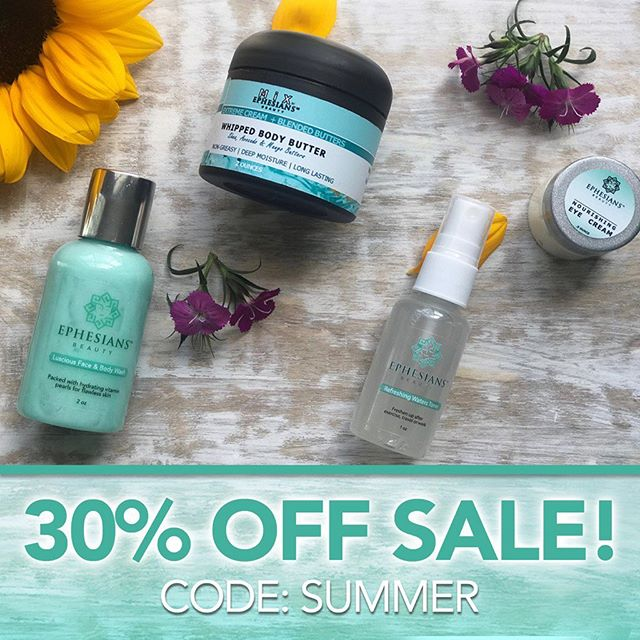 🚨FLASH SALE! 🚨 Stock Up Now On Your Favorite All Natural Summer Essential Products with 30% Off Site Wide  Today and Tomorrow Only! 💙 #MadeWithWhatMatters