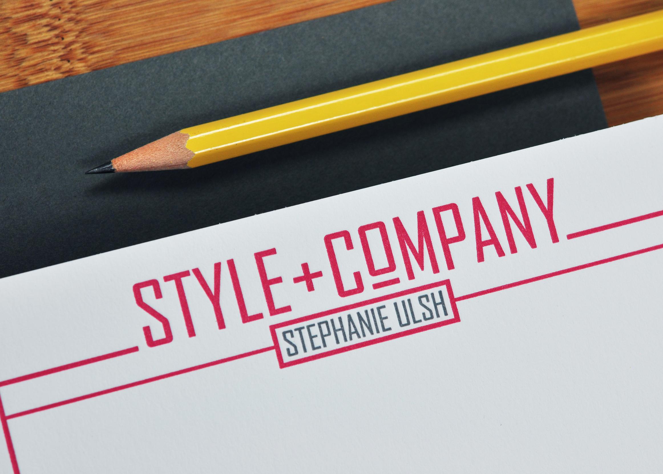 STYLE + COMPANY IDENTITY