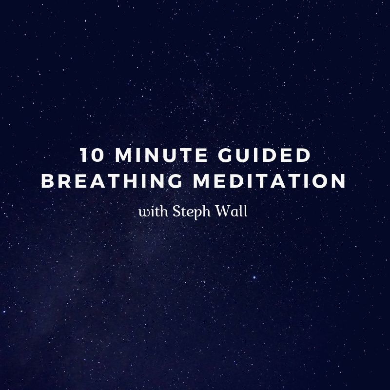 10 minute guided breathing meditation