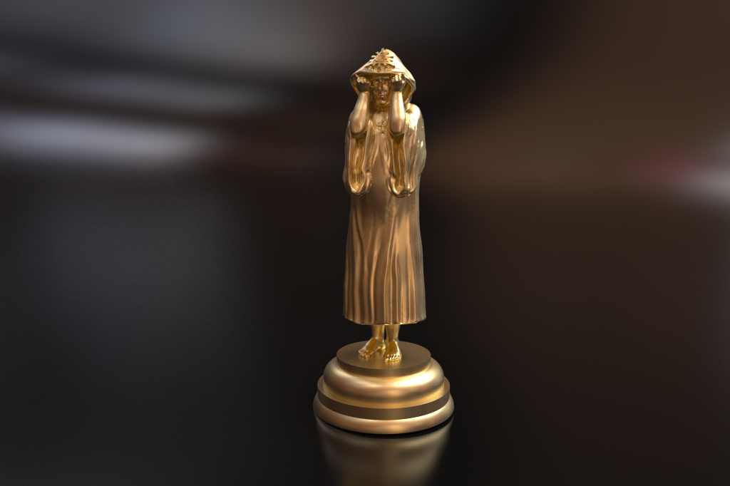 Pieces will be available soon. We'll start with Crowley/King chess piece
