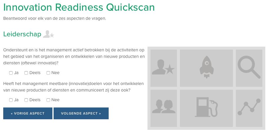 De Innovatie Readiness Quickscan.