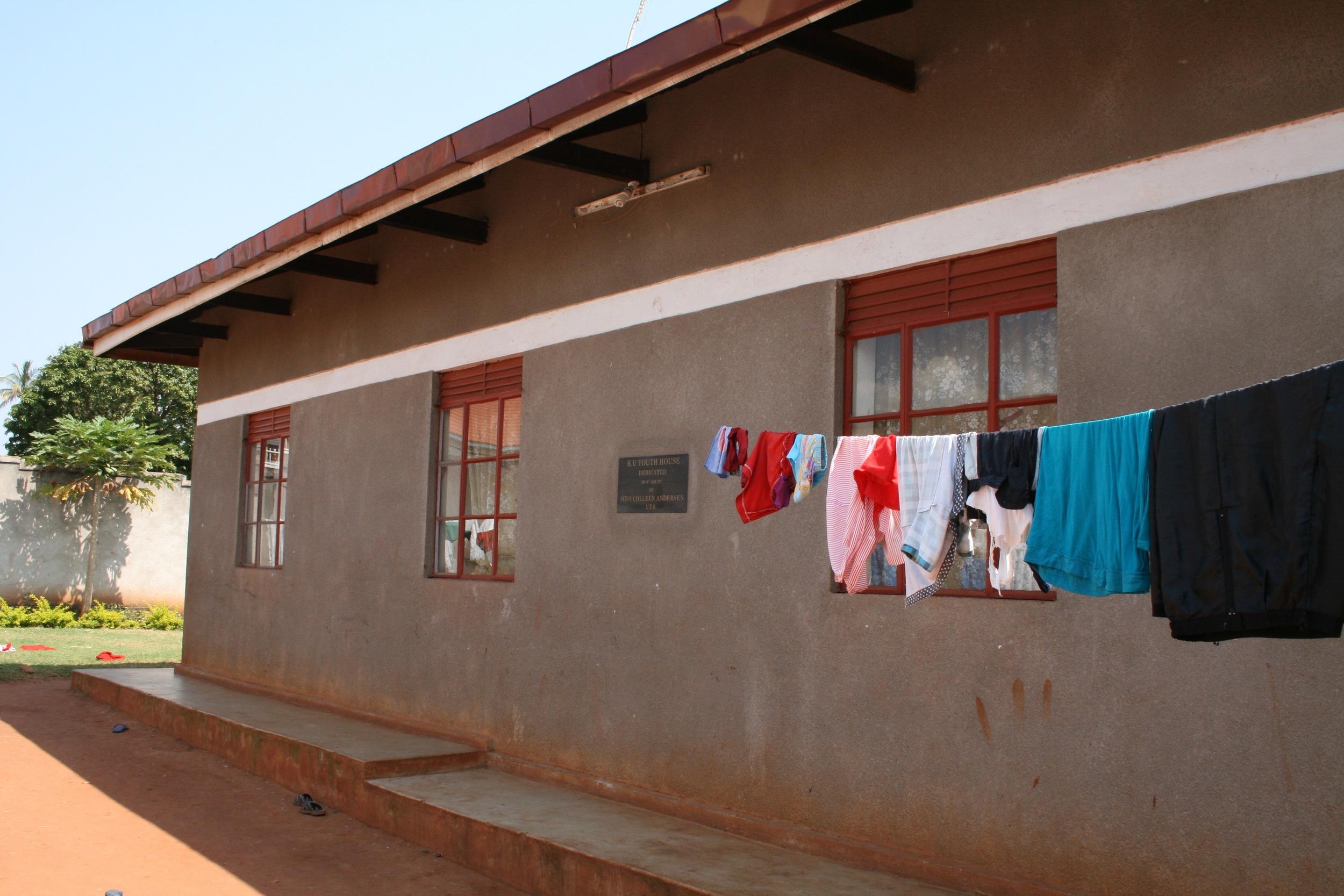 K.U. Youth House - Boys' Dormitory at Mizigo