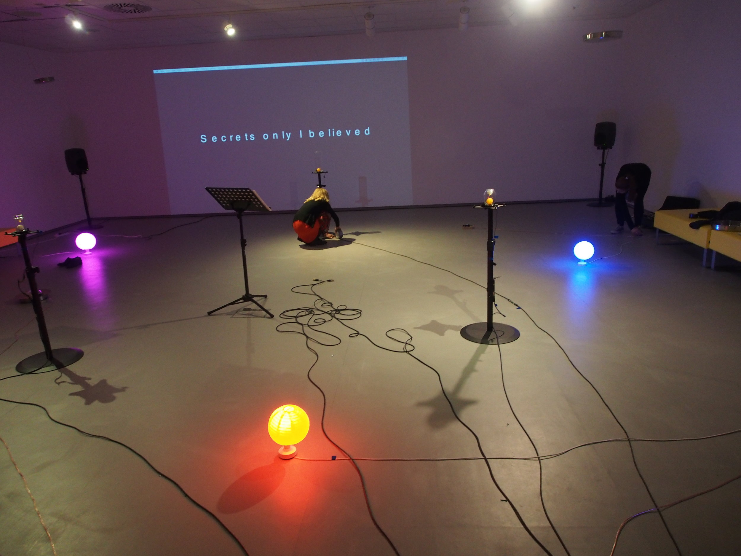 Thanks to Fiona Robertson and Kadri Soerunurk (Sound Festival), Pete Stollery and Adam Cresser (University of Aberdeen), Jim Ewen (Anatomy Rooms), Tasmin Greenlaw and Fraser MacDonald (Suttie Arts Space), all at TechFest, and to the poet Michael Rattee.