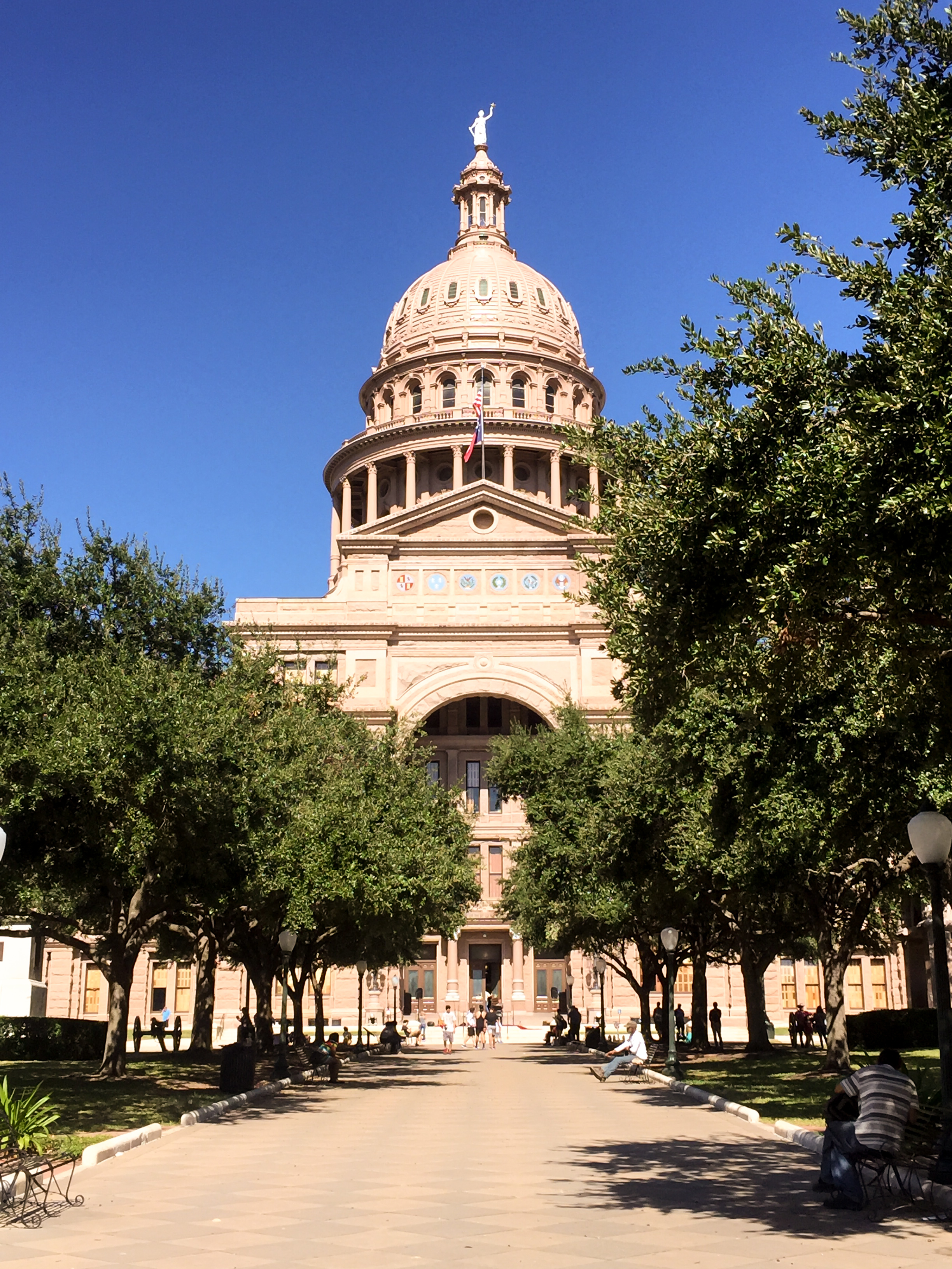 Texas State Capitol Wikerts in Wanderlust