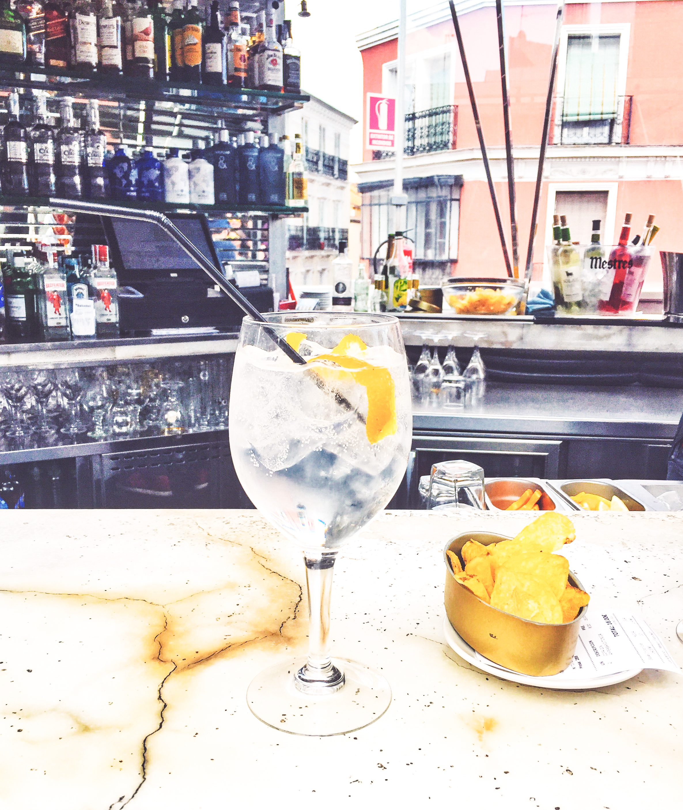 Wikerts in Wanderlust Madrid Gin and Tonic