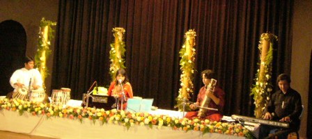 The musicians and Swati presenting a thrilling concert.JPG