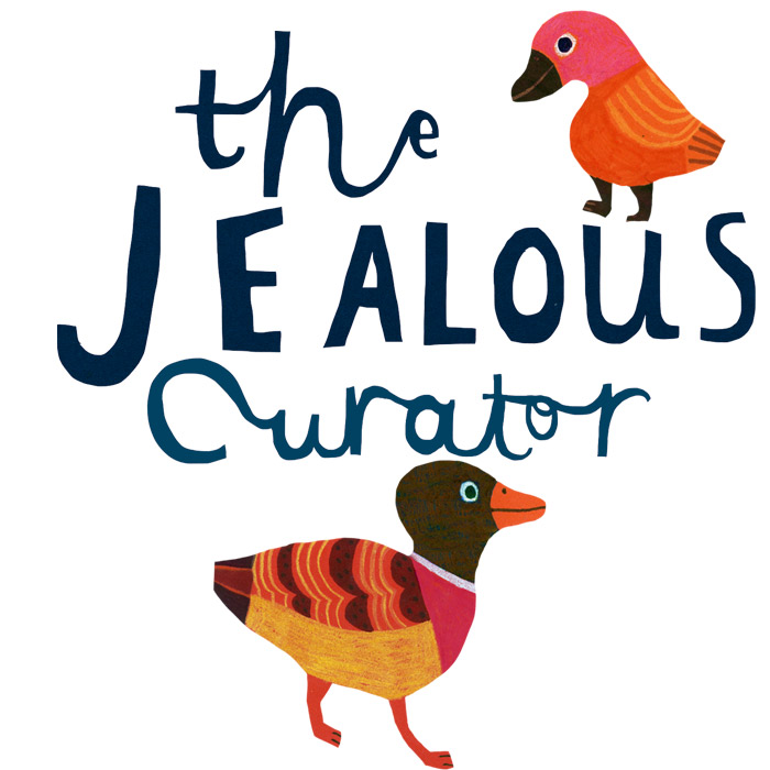 JEALOUS CURATOR - Danielle Krysa, aka The jealous Curator and I had a lovely phone conversation for her podcast Art For Your Ear... You can listen to us talking about Ducks, sausage Dogs and the importance of sharks HERE
