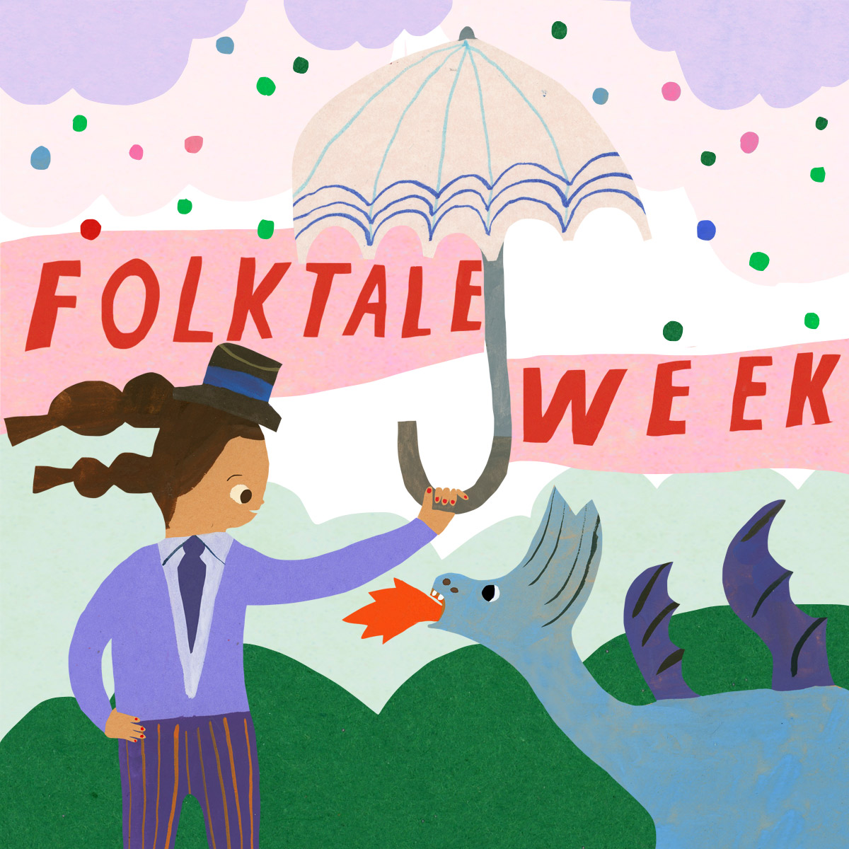 Folktale Week 2018 - Im joining the 7 day challenge of exploring Folk Tales 12-18th of November…Please check into my INSTAGRAM and check out all the work by checking the #folktaleweek2018 hashtag for all the artists work x