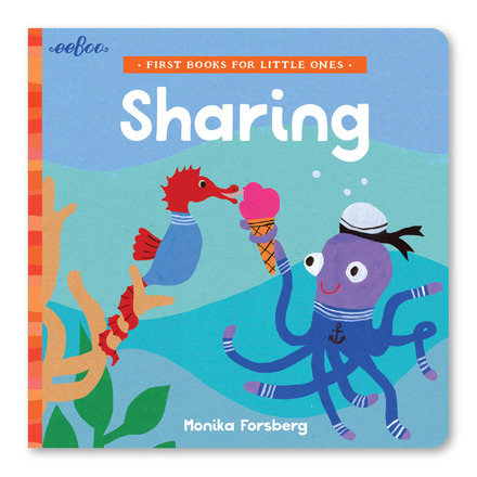 HELPING, SHARING, LOVING AND KINDNESS… - …Are the key ingredients to life. Check out the full range of board books on eeBoo's website