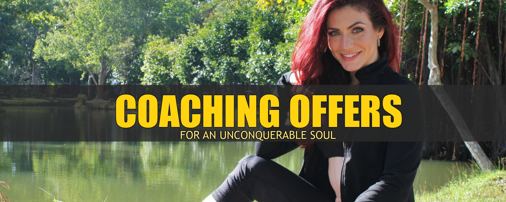 coaching offers for an unconquerable soul