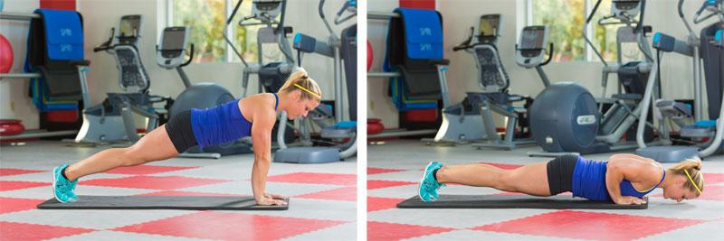 proper push up form