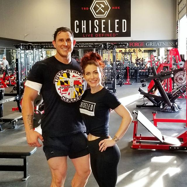CHISELED LIFE GRAND OPENING tomorrow, Saturday June 15th from 11am-3pm. Stop by to see me at the best gym in Maryland, @chiseled_life! Meet me for prizes, try free classes, and check out Total Athlete Nutrition so you can conquer your goals with us! BETTER TOGETHER! #fitness #strong #nutrition #goalgetter #hardwork #determination #trainhard #chiseled #strongereveryday #motivation #enjoythejourney #personaltrainer #fitcouple #columbia #maryland #noexcuses