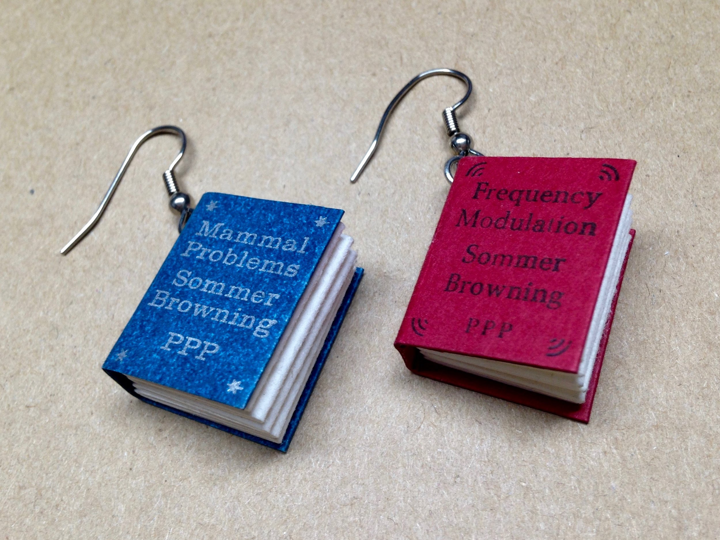 Earbooks by Purgatory Pie Press